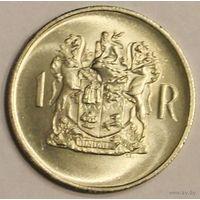 ЮАР (Южная Африка), 1 ранд 1969, юбилейная, серебро (смотри описание)