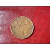 50 сентаво 1972 год Португалия