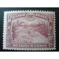Конго 1931 колония Бельгии водный ландшафт