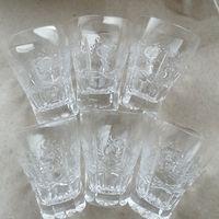 Стопки хрустальные Неманский стеклозавод, комплект 6шт. 50 мл.