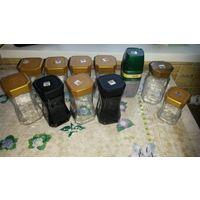 Банки от кофе и чая