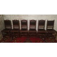Аукционы с рубля. Комплект старинных  стульев