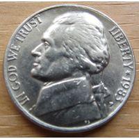 США,5центов1983г.(P) KM# A192