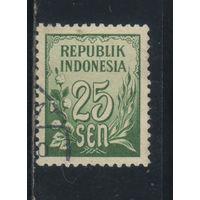 Индонезия Респ 1951 Номинал Стандарт #81