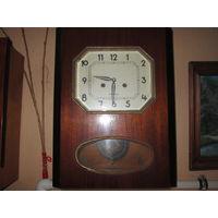С 1 рубля.Часы настенные Янтарь.