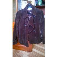 Куртка-пиджак вельветовый