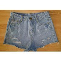 Шорты женские американки джинсовые