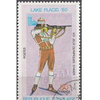 Того Республика Зимняя Олимпиада Лейк-Плэсид 1980  Биатлон спорт