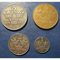 Швеция. Набор монет 1