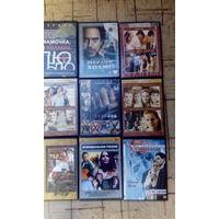 DVD диски (фильмы и музыка ) 32 шт