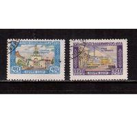 СССР-1958, (Заг.2135-2136)  гаш., 850-лет Владимиру