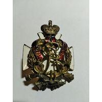 Царский Полковой знак Ряжского 70-го пехотного полка для нижних чинов