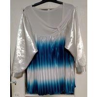 Шикарная блузка на р-р 54-56-58