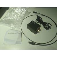 Цифровой оптический Toslink коаксиальный кабель
