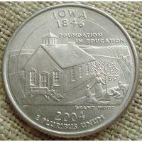 25 центов 2004 США - Айова