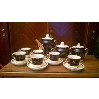 Кофейный сервиз кобальт СССР 70 года