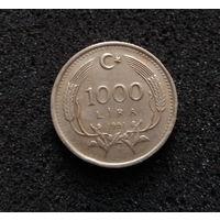 Турция, 1000 лир 1991