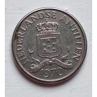 Нидерландские Антильские острова 25 центов, 1970 4-4-62