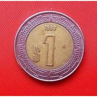 05-08 Мексика, 1 песо 1997 г.