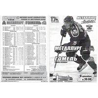 Хоккей. Программа. Металлург (Жлобин) - Гомель. 2008.