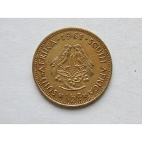 ЮАР 1/2 цента 1961г