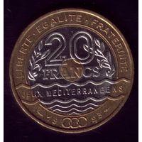 20 Франков 1993 год Франция