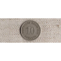 Германия 10 пфеннигов 1907A(Ab)