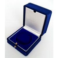 Футляр для монеты D 36,5 мм синий