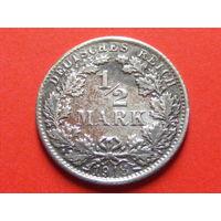 1/2 марки 1918 года F