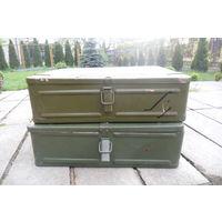 Ящики металлические от военного имущества