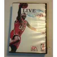 """Картридж для приставки SEGA """"Игры NBA-98"""". В коробке с описанием игр."""