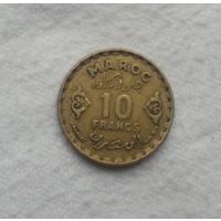 10 франков 1951 г. Марокко