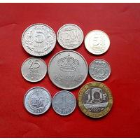 9 монеток - 9 стран. #54 Старт с 10 копеек.