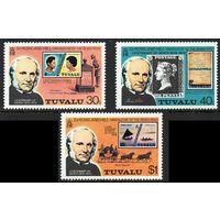 1979 Тувалу 109-111 100 лет Роуленд Хилл