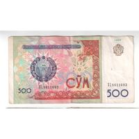 500 сум  Узбекистана 1999 года