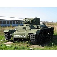 "Люк от английского пехотного танка Mk.III ""Валентайн""."