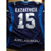 Павел Казакевич - Игровая хоккейная джерси сезона 2015-2016 года..