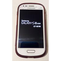 Смартфон Samsung Galaxy S III mini La FLeur (8Gb) (I8190), в комплекте - зарядное и чехол