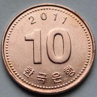 10 вон 2011 Корея