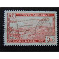Французский Алжир 1946 г. Самолёт.