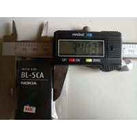 Аккумуляторная батарея Nokia BL-5CA 3.7v