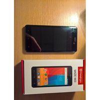 """Prestigio Wize M3 PSP3506 Android, экран 5"""" IPS (720x1280), Spreadtrum SC7731,  флэш-память 4 ГБ, карты памяти, камера 8 Мп, аккумулятор 2000 мАч, 2 SIM, цвет черный, очень хорошее состояние, комплект"""
