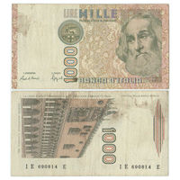 Италия. 1000 лир 1982 г. [P.109]