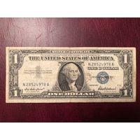 1 доллар 1957