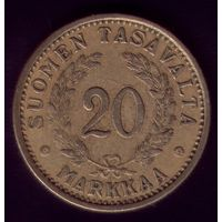 20 Марок 1937 год Финляндия