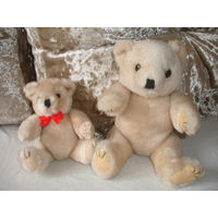 Мягкая игрушка винтаж Медведь Мишка 20 см Германия