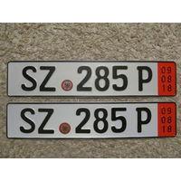 Автомобильный номер Германия SZ285P