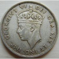 20. Кипр 9 пиастров 1940 год, серебро.