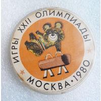 Гимнастика. Олимпийский Мишка. Игры 22-й Олимпиады. Москва 1980 год #0515-SP12