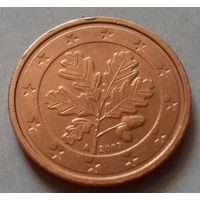 2 евроцента, Германия 2003 A, AU